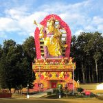 New Padmasambhava Statue at Mindrolling.