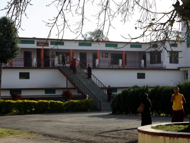 The monks dormitory at Mindrolling Monastery.