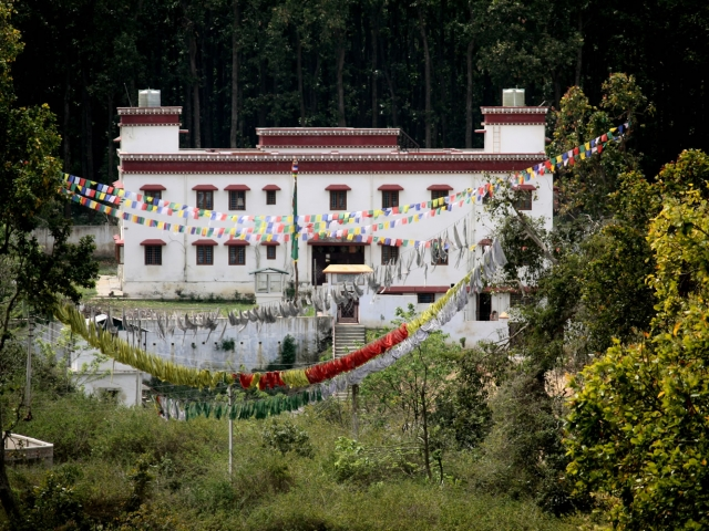Retreat Building at Mindrolling Monastery.