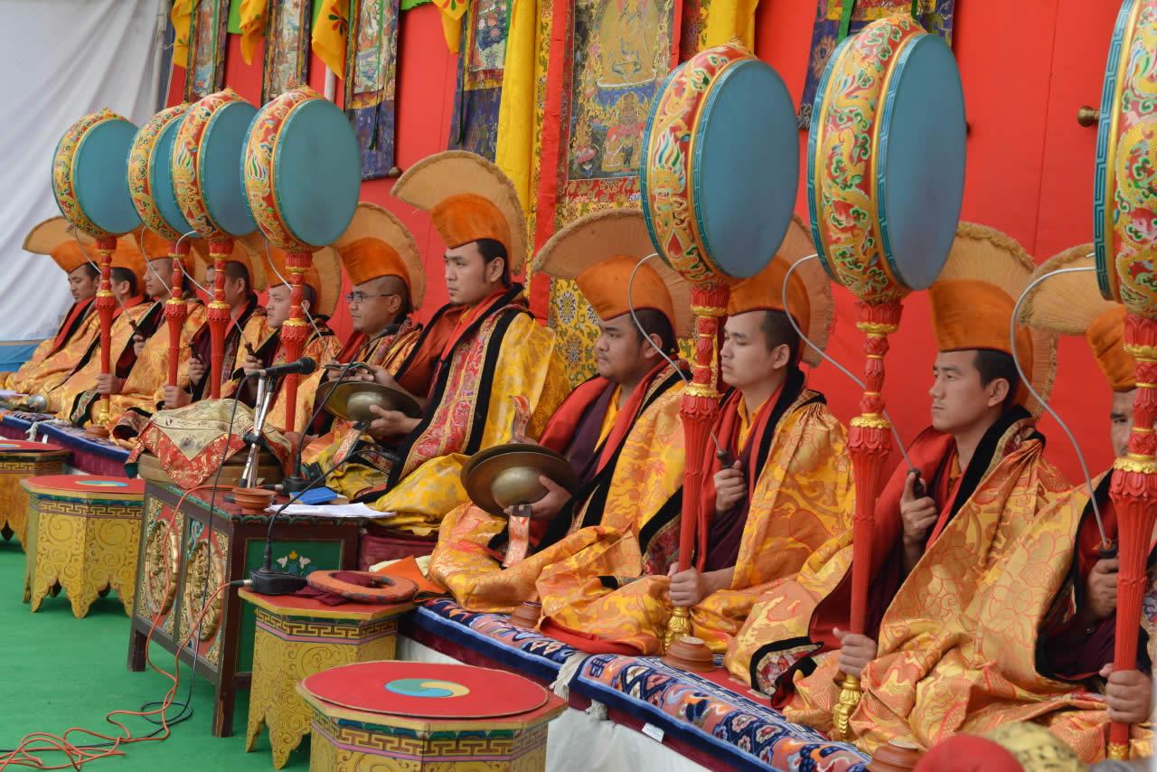 Musicians during the Tse Chu Chenmo