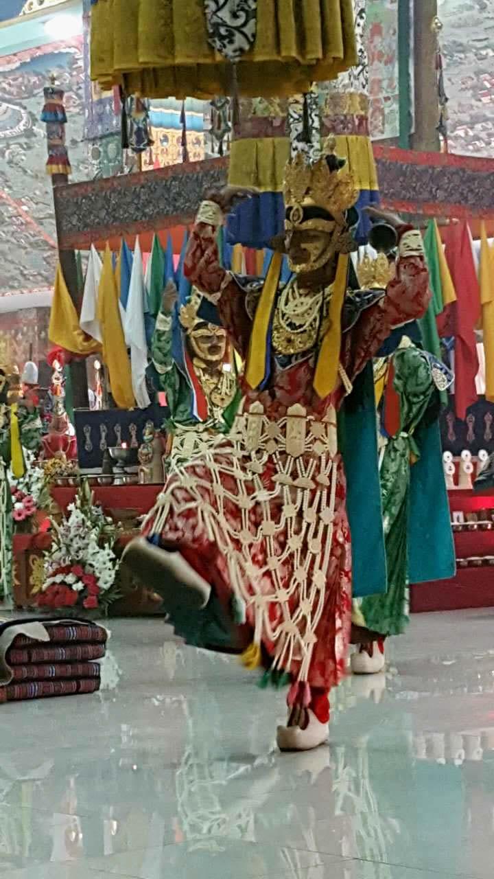 Ritual dance during the Thugje Chenpo
