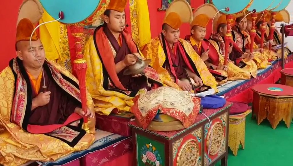 The Great Tse Chu Ceremony at Mindrolling Monastery