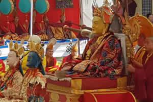 Tse Chu at Mindrolling Monastery