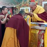 Tenzhug Offering to His Eminence Khochhen Rinpoche