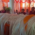 Hundreds Pay Respect at the Arrival of the Kuphung of Lodi Gyari Rinpoche