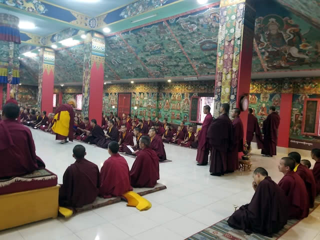 The Great Ka Ma'i Tshogchen Düpa Drubchoe at Mindrolling Monastery