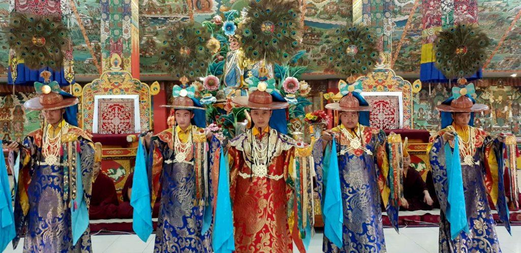 The Great Ka Ma'i Tshogchen Düpa Drubchoe at Mindrolling Monastery