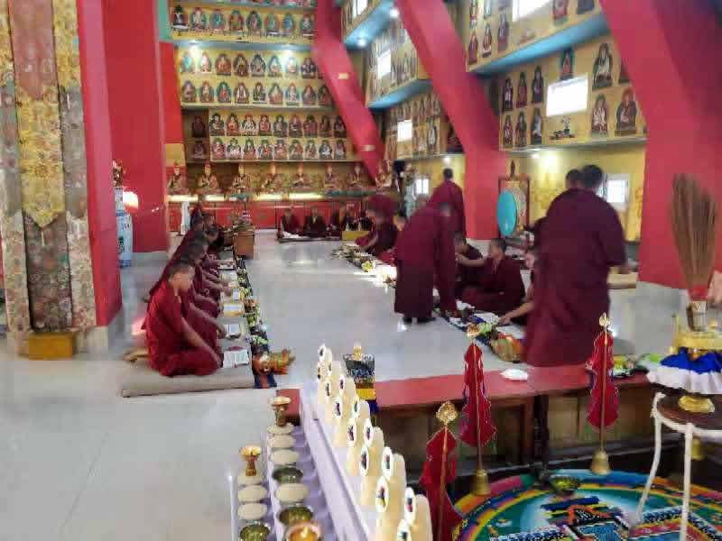 TThe Great Ka Ma'i Tshogchen Düpa Drubchoe at Mindrolling Monastery
