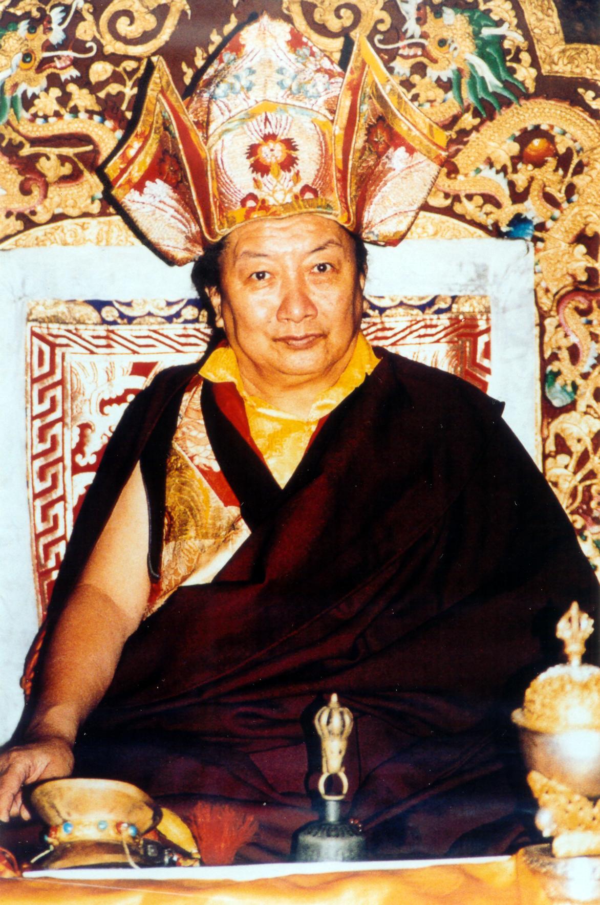Kyabje Mindrolling Tirichen Rinpoche
