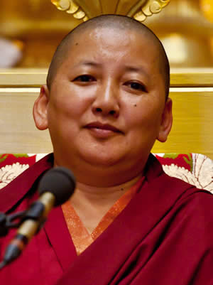 Her Eminence Jetsün Khandro Rinpoche
