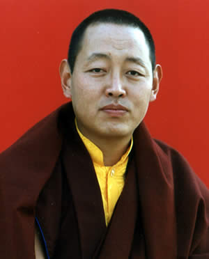 His Eminence Minling Khenchen Rinpoche