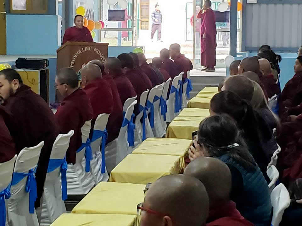 Founders Day 2020 at Mindrolling Monastery-1