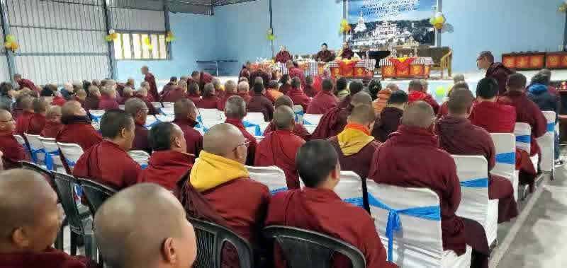 Founders Day 2020 at Mindrolling Monastery-11