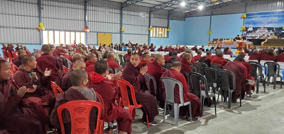 Founders Day 2020 at Mindrolling Monastery-5