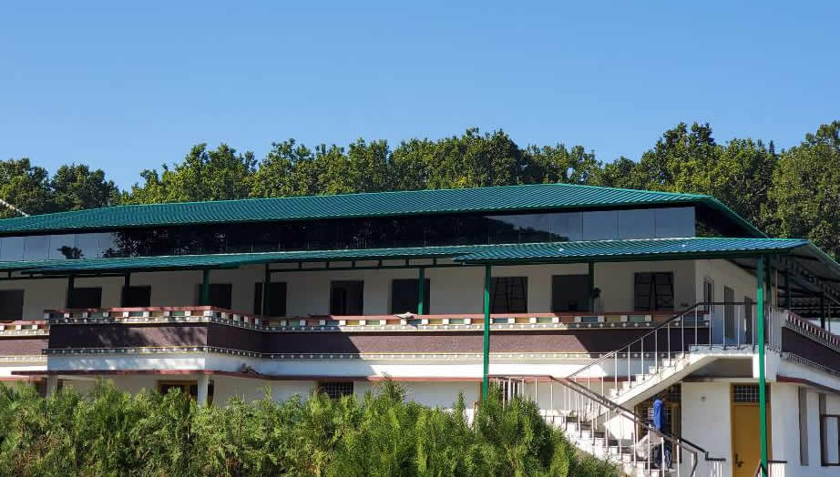 Young monks dormitory at Mindrolling Monastery