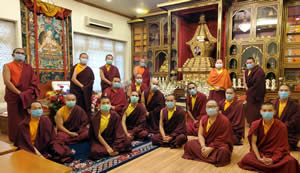 New administration at Mindrolling Monastery-June 2020