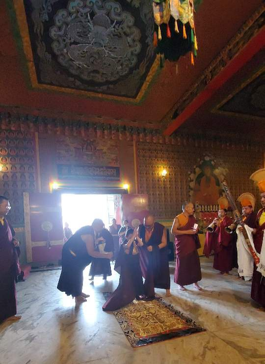 Minling Dungse Rinpoche's 6th Birthday at Mindrolling Monastery-1
