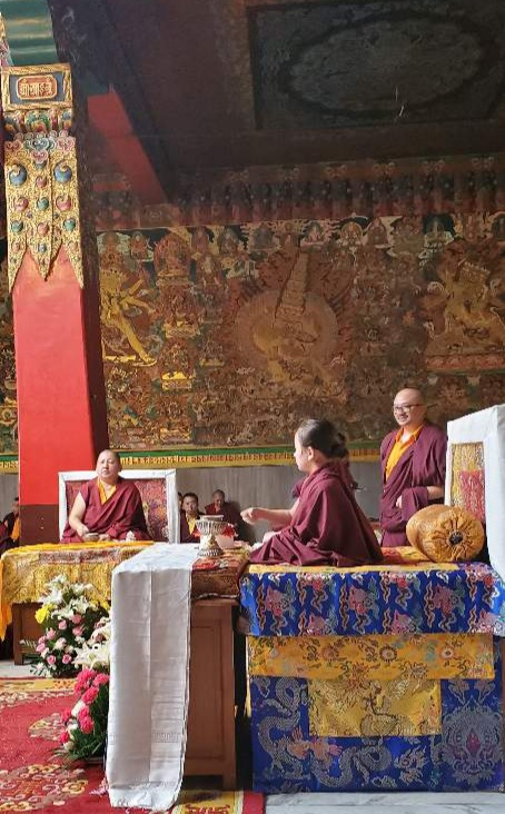 Minling Dungse Rinpoche's 6th Birthday at Mindrolling Monastery-2