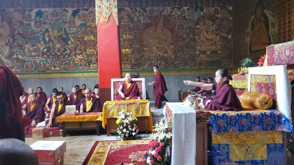 Minling Dungse Rinpoche's 6th Birthday at Mindrolling Monastery-4