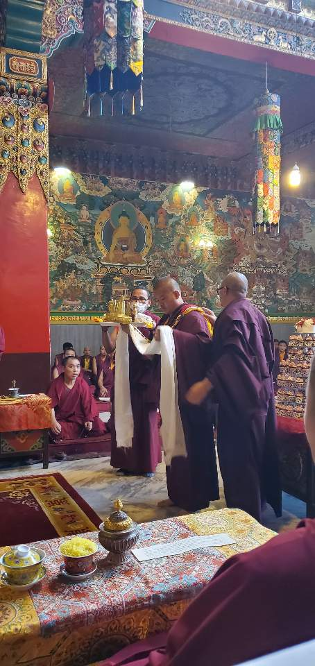 Minling Dungse Rinpoche's 6th Birthday at Mindrolling Monastery-5