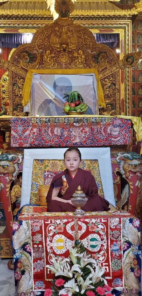 Minling Dungse Rinpoche's 6th Birthday at Mindrolling Monastery-6
