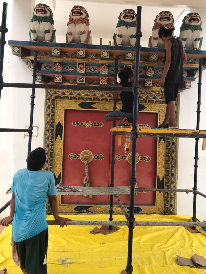 Mindrolling Monastery Renovations 2020-6