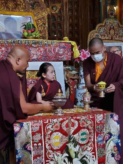 Dungse Rinpoche's 6th Birthday